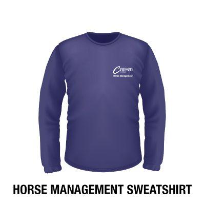 Craven College Website Photo Horse Management Sweatshirt 400x400 - Sweatshirt - Horse Management