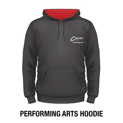 Craven College Website Photo Proforming Arts Hoodie copy copy 400x400 - Hoodie - Performing Arts