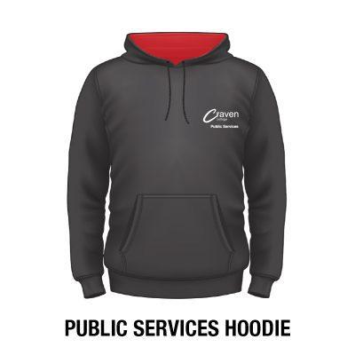 Craven College Website Photo Public Services Hoodie copy 400x400 - Hoodie - Public Services