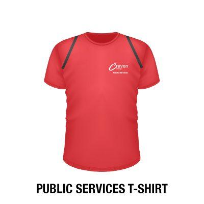 Craven College Website Photo Public Services T Shirts 400x400 - T Shirt – Public Services