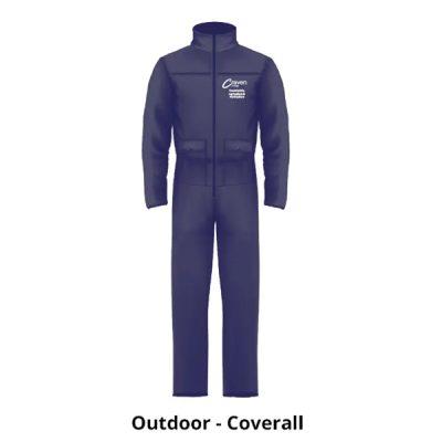 Countryside 400x400 - Boiler suit - Flame Retardant